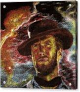 The Last Gunslinger Acrylic Print