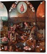 The Last Judgement Hieronymus Bosch Acrylic Print
