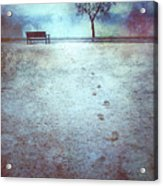 The Last Snowfall Acrylic Print