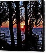 The Last Sun Acrylic Print