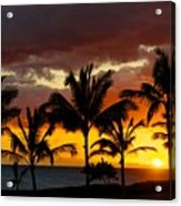The Last Sunset Acrylic Print by James Walsh