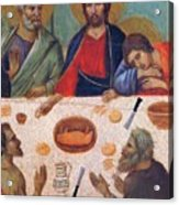 The Last Supper Fragment 1311 Acrylic Print