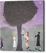 The Last Tree Acrylic Print