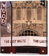The Last Waltz Acrylic Print