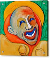 The Laugh Of A Clown Acrylic Print