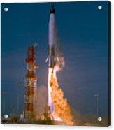 The Launch Of The Mercury Atlas Acrylic Print