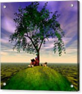 The Learning Tree Acrylic Print