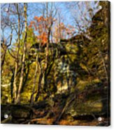 The Ledges  Acrylic Print