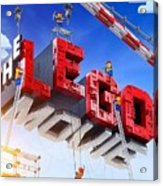 The Lego Movie Acrylic Print