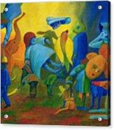 The Levitation. Acrylic Print