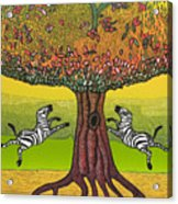 The Life-giving Tree. Acrylic Print by Jarle Rosseland