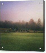 The Lifting Of Morning Fog Acrylic Print