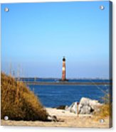 The Lighhouse At Morris Island Charleston Acrylic Print
