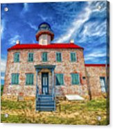 The Light At East Point Acrylic Print