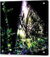 The Light At The End Of The Triangle Acrylic Print by Eikoni Images
