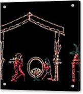 The Light Of Christmas Acrylic Print