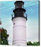 The Lighthouse At Key West Florida Acrylic Print