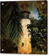 The Lighthouse In Key West Acrylic Print