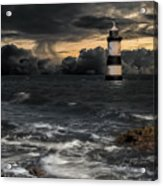 The Lighthouse Storm Acrylic Print
