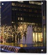 New York City Lights Acrylic Print