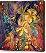 The Lilies Of Galilee Acrylic Print