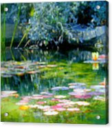 The Lily Pond I Acrylic Print