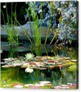 The Lily Pond II Acrylic Print