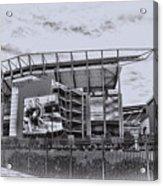The Linc - Philadelphia Eagles Acrylic Print