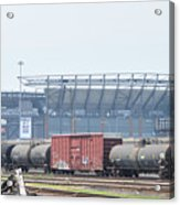 The Linc From The Other Side Of The Tracks Acrylic Print