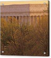 The Lincoln Memorial, Seen Acrylic Print