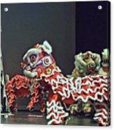The Lion Dance Camarillo  Acrylic Print