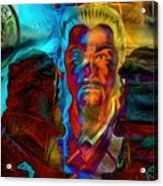 The Lion Emperor  Acrylic Print