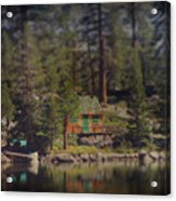 The Little Cabin Acrylic Print