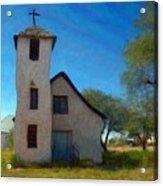 The Little Church Acrylic Print