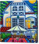 The Little Festive Danish House Acrylic Print