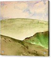 The Little Hills Rejoice Acrylic Print
