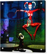 The Little Puppet Master Acrylic Print