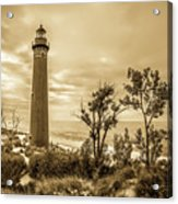 The Little Sable Lighthouse Acrylic Print