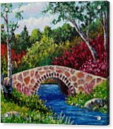 The Little Stone Bridge Acrylic Print