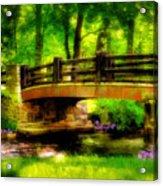 The Little Stone Bridge Acrylic Print
