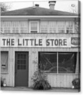 The Little Store Acrylic Print