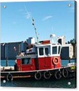 The Little Tug Boat Acrylic Print