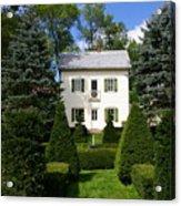 The Little White House Acrylic Print