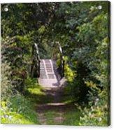 The Little Wooden Bridge Acrylic Print