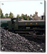 The Locomotive Yard Acrylic Print