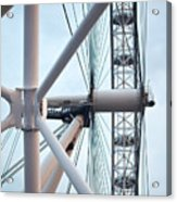 The London Eye Acrylic Print by Martin Howard