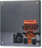The Lonely Robot Photographer Acrylic Print
