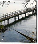 The Long Dock Acrylic Print