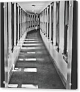 The Long Hall Acrylic Print