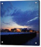 The Long Pier, Boston Ma Acrylic Print